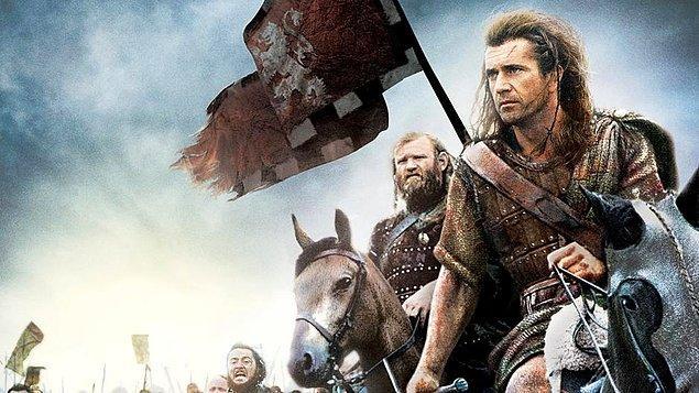 6. Braveheart-Cesur Yürek (1995)   IMDb 8.4