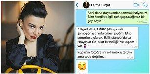 Fatma Turgut'a WhatsApp'tan Yürüdük! Güzeller Güzeli Başarılı Şarkıcımızla Eğlenceli Muhabbetimize Buyurun