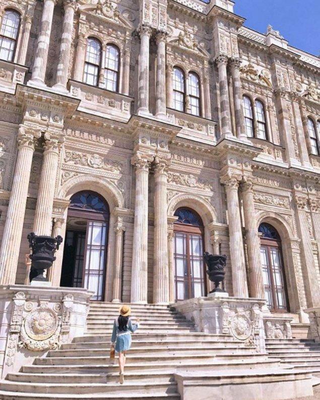3. Dolmabahçe Sarayı