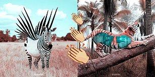 Photoshop'u Ustaca Kullanarak Olağanüstü Fantastik Hayvanlar Yaratan Fransız Sanatçıdan 25 Enfes Çalışma
