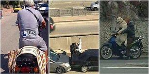 Trafikte Karşılaşsak Şaşkınlıktan Direksiyon Hakimiyetini Kaybeceğimiz 19 Komik Manzara