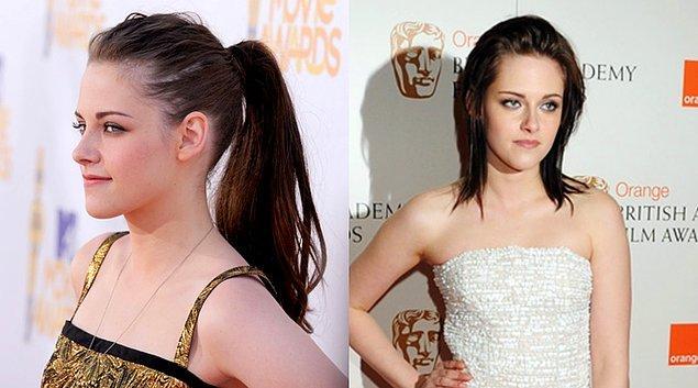 2010 yılının başlarında upuzun saçlarıyla kameralar önüne geçerken yılın diğer yarısında Runaway filmi için saçları omuzlarında katlı bir modele dönüştü. Simsiyaha boyattığı saçlarını kısa sürede koyu kahverengi yapmıştı bile.