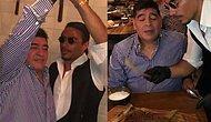Nusret, Dubai'deki Mekanında Diego Armando Maradona'yı Ağırladı!