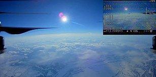 10 Bin Metre Yüksekliğe Çıkan Drone'un Kaydettiği Muhteşem Görüntüler