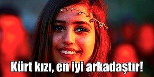 Güçlü Karakterleri, Keskin Bakışları ve Gür Saçları ile Bu Coğrafyanın En Kıymetlileri Onlar! Sıra Kürt Kızlarında!