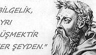 Ateşin ve Değişimin 'Karanlık' Filozofu Heraklitos'tan Cesaret ve Yaşam Gücü Verecek Sözler