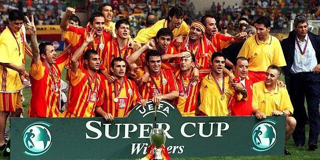 Avrupa'da yükselişini sürdüren Galatasaray, aynı sezonun devamı niteliğinde olan UEFA Süper Kupasının da alınmasıyla daha da perçinlenmiştir.