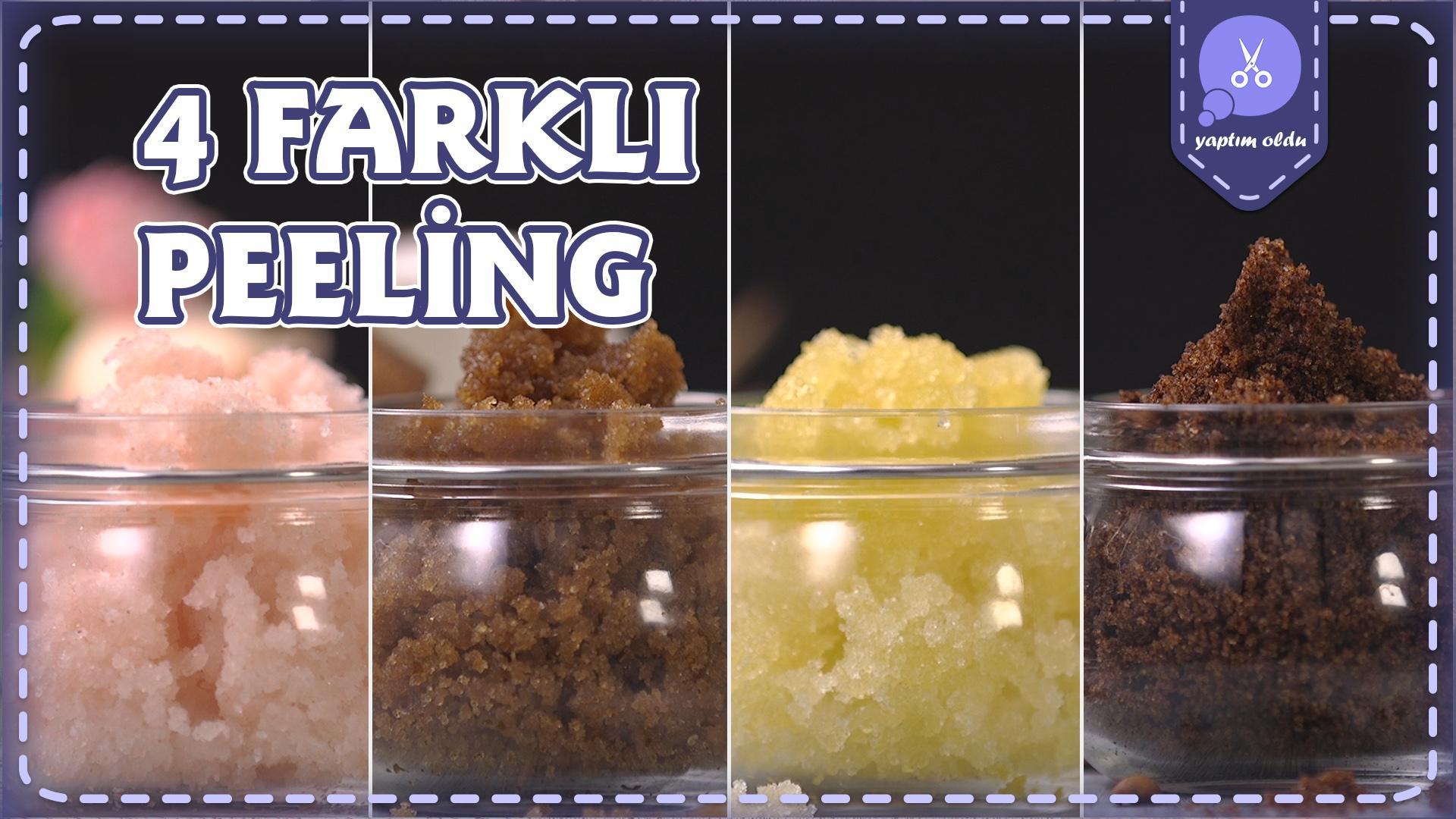 Bu Bahar Doğal Yöntemlerle Kendini Yenilemek İsteyenler İçin: 4 Farklı Peeling Tarifi
