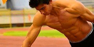 'Suriyeli Bruce Lee'den İki Parmak Şınavında Dünya Rekoru