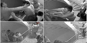 Apartman Kamerası O Anları Kaydetti: Komşusu ile Kavga Eden Polis Silah Çekti