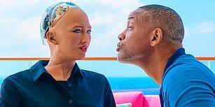 Suudi Arabistan Tarafından Vatandaşlık Verilen Robot Sophia, Will Smith ile Randevuya Çıktı