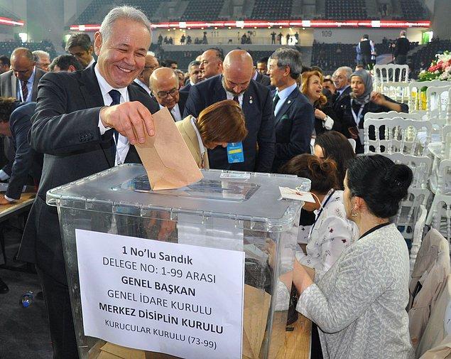 İYİ Parti Genel Sekreteri Aytun Çıray, bin 64 delegenin imzasıyla kurultayı açtıklarını belirtti. Divan Başkanlığına Abdul Ahat Andican seçildi.