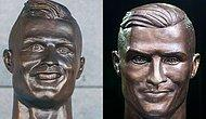 Ünlü Futbolcu Ronaldo İçin Yaptığı Heykelle Dalga Konusu Olan Sanatçıdan Yeni Bir Çalışma Daha Geldi!