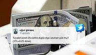 💸 Ve Dolar 4 Lirayı Gördü: Değer Kaybeden Türk Lirası Sosyal Medyanın Gündeminde