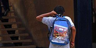 Peki Yasalar? Katliam Yapılan Okulda Silahlı Saldırı Tedbiri Olarak 'Şeffaf Çanta' Dağıtıldı
