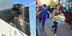 Gaziosmanpaşa Taksim İlkyardım Hastanesi'ndeki Yangın 7 Yıl Önceki Soruyu Tekrar Akıllara Getirdi: Bu Nasıl Malzeme?
