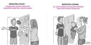 Daha İyi İfade Edilemezdi! Yeni Anne Olmanın Ortak Zorluklarını Çizgiye Döken 10 Karikatür