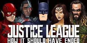 Justice League Aslında Nasıl Bitmeliydi?