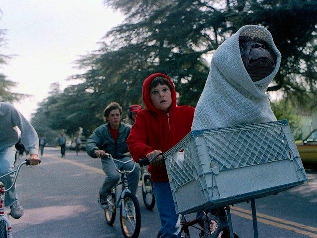 16. Herkesin mutlaka uzaylı bir arkadaşı olması gerektiğini bizlere öğreten E.T.