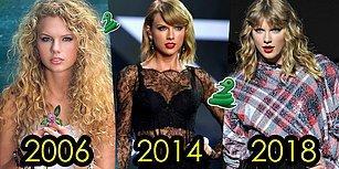 Taşra Kızından Çıngıraklı Yılana: Taylor Swift'in Yıllar İçerisindeki Stil Evrimini İnceliyoruz!