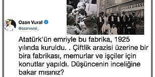 Atatürk'ün Büyük Bir Özveriyle Kurduğu Bira Fabrikasının Göz Göre Göre Elimizden Kayıp Gidişinin Hüzünlü Hikayesi