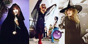 Mistik Şarkı Sözleri ve Gotik Stiliyle Modern Zamanın Cadısı Olarak Bilinen Bir Müzik Efsanesi: Stevie Nicks!