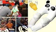 Otizmli Çocuklar İçin Mükemmel Bir Proje: İnteraktif Panda Formunda Giyilebilir Yastık Oyuncak Plusme