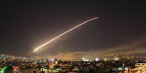 Ve Operasyon Gerçekleşti: ABD, İngiltere ve Fransa Suriye'yi Vurdu