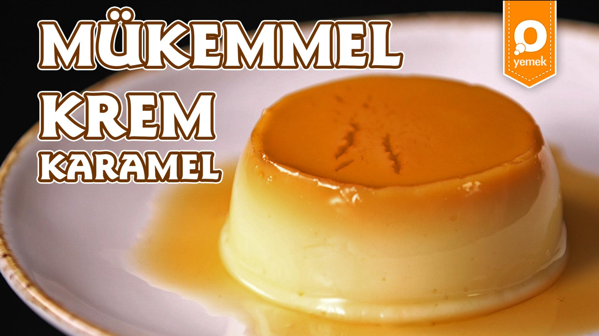 Pratik krem karamel tarifi