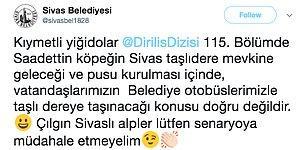 Aşırı Doz Diriliş Ertuğrul'dan Etkilenen Sivaslılar Sadettin Köpek'e Pusu Kurmak İçin Belediyeden Otobüs İstedi!