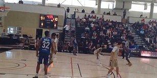 Basketbol Maçında Yaptığı Hareketle Rakip Oyuncuları Hayata Küstüren Liseli
