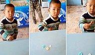 Bırakın Dünyayı Çocuklar Yönetsin! Şeker Alabilmek İçin Bakkala 3 Düğme Veren Ufaklık