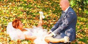 Gözleriniz Kanayacak! İnsanı Evlilikten Soğutan 29 Rus Düğün Fotoğrafı