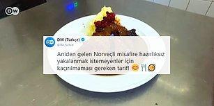 Norveçli Misafire Hazırlıksız Yakalanmayın! DW Türkçe Twitter'dan 'Norveç Usulü Geyik Kızartması' Tarifi Paylaşırsa