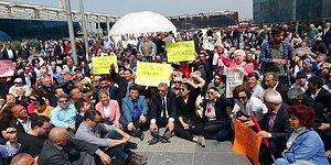 CHP Meydanlara İndi: OHAL'in 7. Kez Uzatılması Tüm Türkiye'de Oturarak Protesto Edildi