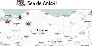 Kadınlar Tacizcilerini Türkiye Haritası Üzerinde İfşa Ediyor: Sen De Anlat