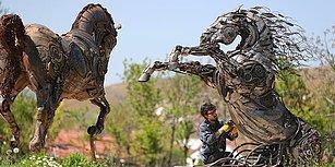 Metale Hayat Veren Bir Yetenek: Fantastik Çalışmalarıyla Tanıdığımız Cem Özkan'dan Yeni Eser