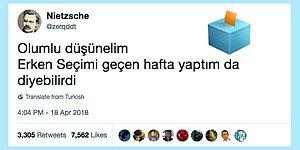 Bir Akşam Ansızın Gelen Erken Seçime Mizahıyla Jet Cevap Veren 16 Kişi