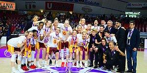 Türkiye'ye Bir Kupa Daha! Galatasaray Kadın Basketbol Takımı Avrupa Şampiyonu Oldu
