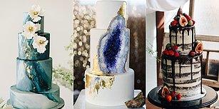 Pastanın da Modası mı Olurmuş Demeyin! Karşınızda 2018 Düğün Pastası Trendleri