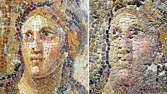 En büyük dileğimiz, bu güzel ve eşsiz mozaikle birlikte diğer eserlerin de korunabilmesi ve akıbetlerinin Hatay Arkeoloji Müzesi'ndeki Roma mozaiklerine benzememesi...