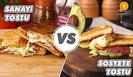 Efsaneleşmiş Lezzet, Popülerleşen Lezzete Karşı: Sanayi Tostu vs Sosyete Tostu