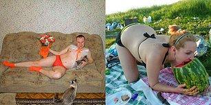 Rusların Eş Bulma Sitelerinde Paylaştığı ve İnsanı İlişkiden Soğutan 17 Garip Fotoğraf