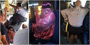Dolu Otobüste Boş Koltuk Bulmuş Gibi Neşelendirecek 17 Komik Otobüs Manzarası