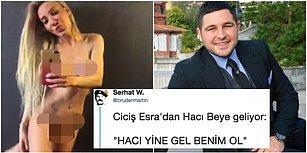 Ciciş Esra'nın Hacı Sabancı'ya Gönderdiği İddia Edilen Çıplak Videosu Mizahçıların Diline Çok Fena Düştü
