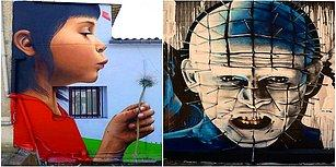 Şehrin Gri Yüzünü Yaratıcılığıyla Rengarenk Bir Dünyaya Dönüştüren Graffiti Sanatçısı: Sfhir