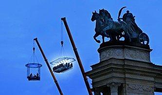 Brüksel'de Bulunan Gökyüzü Restoranı