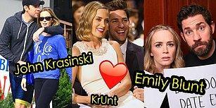 Gözlerden Uzak Evlilikleriyle Ünlüler Aleminin En Güzel Aşkı: Emily Blunt ve John Krasinski