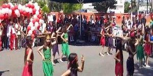Gerekçe Kıyafet: Mersin'de Çocukların 23 Nisan Gösterisi Yarıda Kesildi