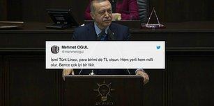 Erdoğan 'Milli ve Yerli Para ile Kur Oyununu Bozacağız' Açıklaması ile Sosyal Medyanın Gündeminde